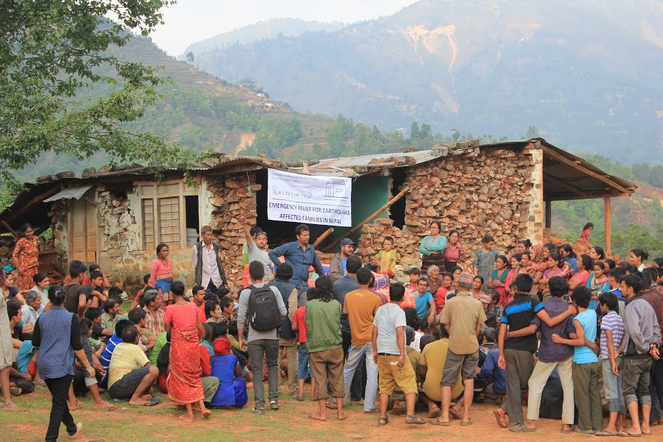 20 Emergency Relief for families affected by the Earthquake Nepal 2014