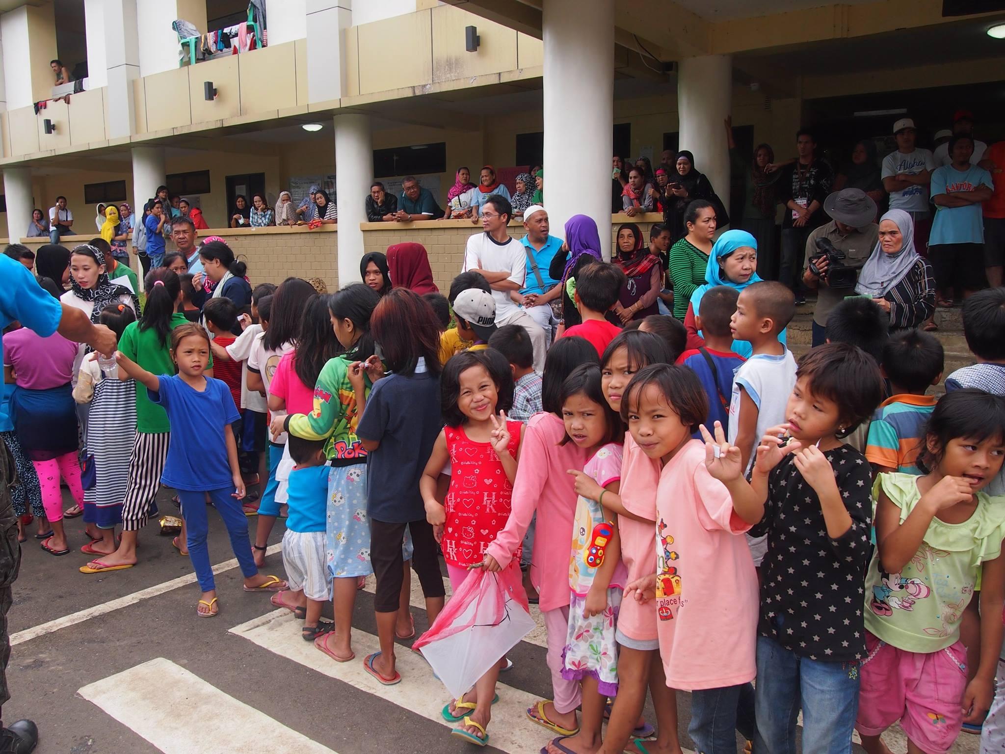 29 Children in Marawi evacuation center, Marawi, Philippines 2017