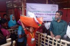 05 During distributing times, Cox's Bazar, Bangladesh