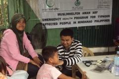 "13 Emergency Health Program ""Typhoon Haiyan"", Philippines 2013"