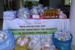 19 Humanitarian Assistance for the Rohingya refugee in Southern Thailand