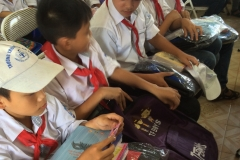 Educational material supports in Vietnam
