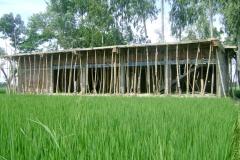 """A construction project of """"Mahkamal Kindergarten School"""" started 2013, Joypurhat, Bangladesh"""