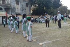 Sport Day at Bagh Girls Primary School, Kolkata India