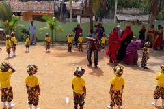 Sport Day at a pre-primary school, Mannar, Sri Lanka