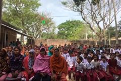 Annual parents meetings in Mahkamal Kindergarten School, Kalai Bangladesh
