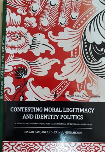 Book Cover: Contesting Moral Legitimacy and Identity Politics