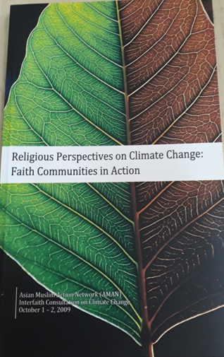 Book Cover: Religious Perspectives on Climate Change: Faith Communities in Action